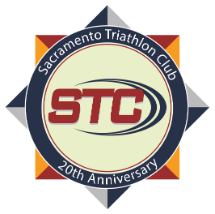 Sacramento Triathlon Club 20th Anniversary Logo